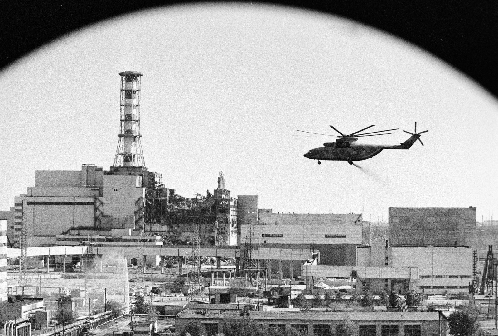 Chernobyl. After the accident